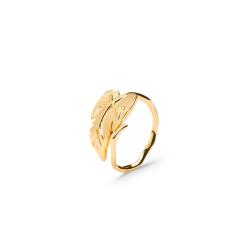 Vine Leaf Ring Ring