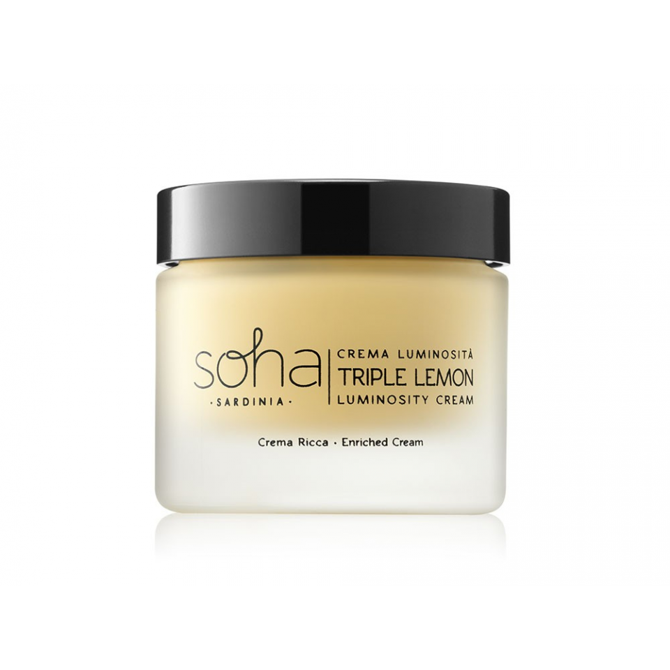 Triple Lemon Luminosity Cream - Rich Texture