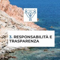 Soha si impegna ad essere responsabile e trasparente in tutte le attività e iniziative, controllando l'impatto ambientale e rendendo dati e informazioni accessibili a tutti.  #OneOceanFoundation #respecttheocean #chartasmeralda #oneoceanfoundation #sohasardinia